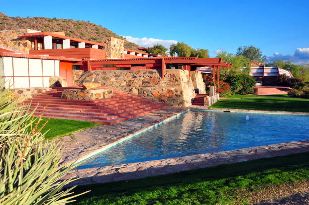 A Scottsdale Point of Pride: Frank Lloyd Wright