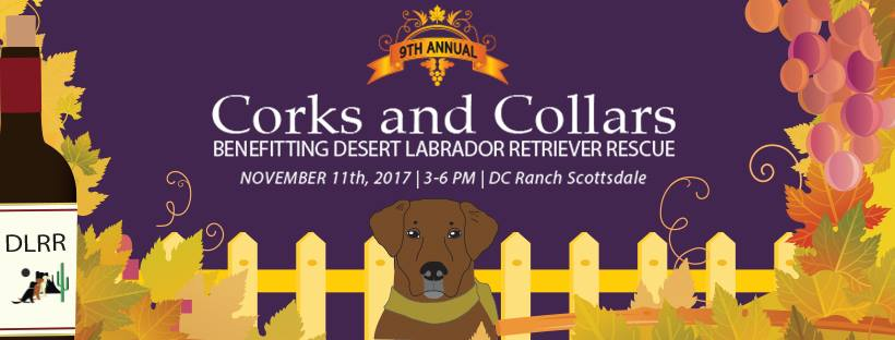 Corks & Collars Wine Tasting | November 11th
