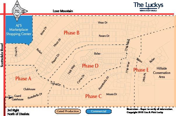 Bellasera Map