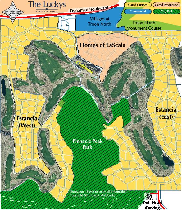 Estancia Map