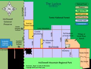 Clickable Granite Mountain Area Map