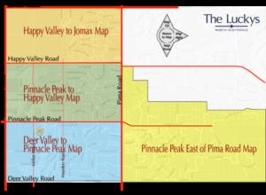 Pinnacle Peak Area Map