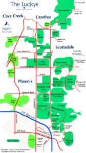 North Scottsdale Map