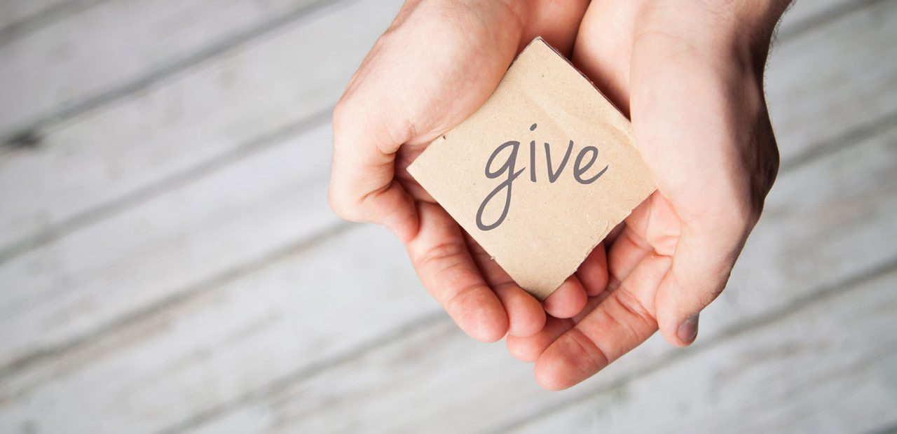 Good News: It's Better to Give